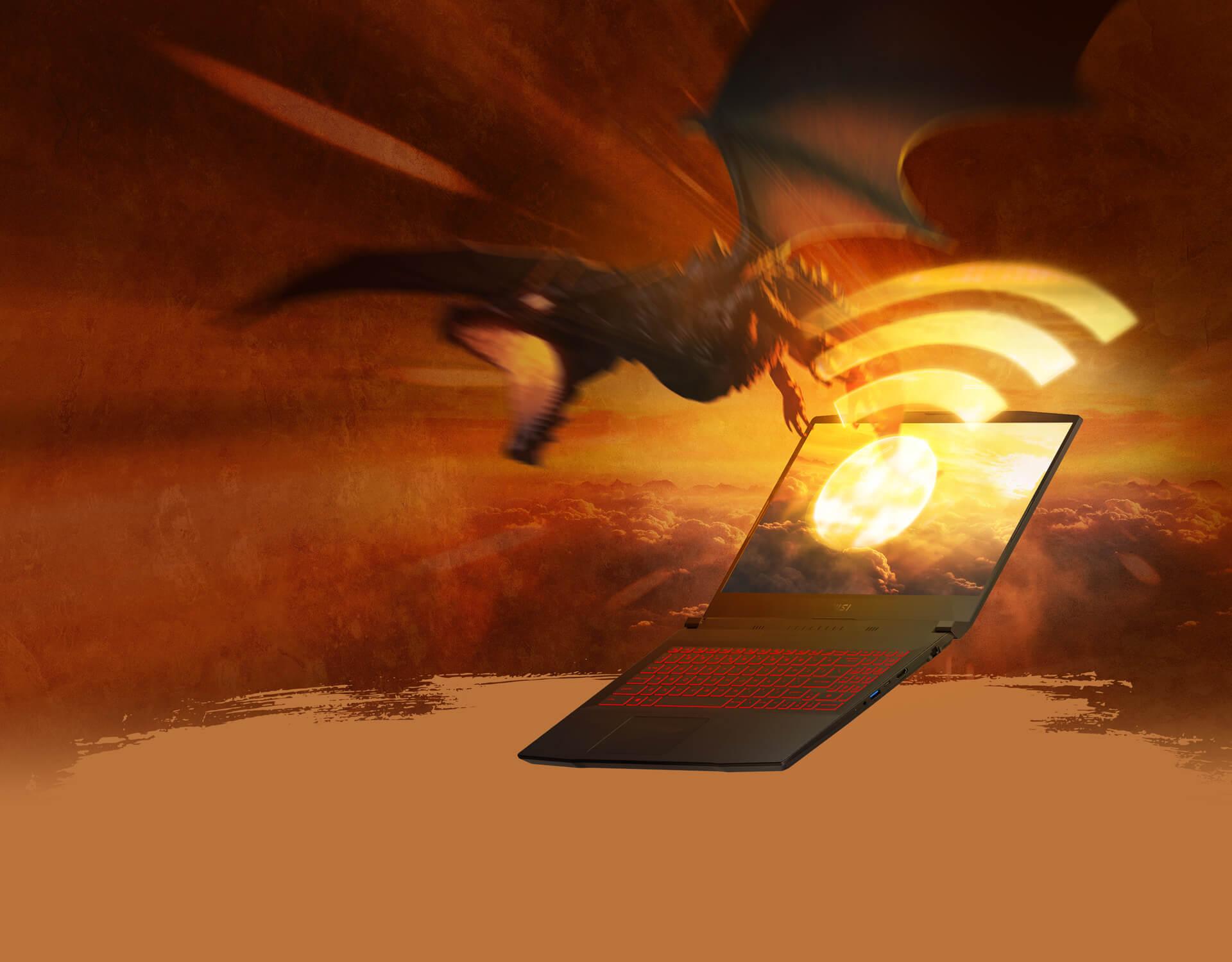 Katana GF66                                                 Intel wi-fi 6 Gig+