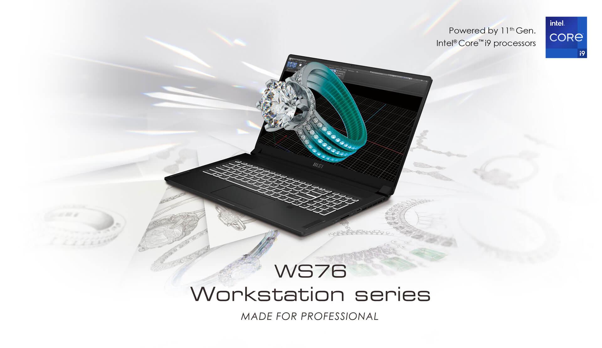 msi WS76