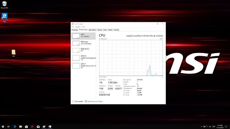 CPU speed