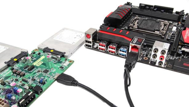 MSI USB 3.1 ist 2X schneller, aber es bietet noch mehr...