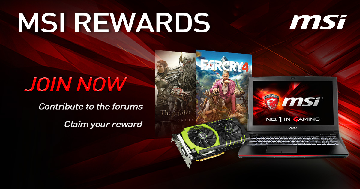 MSI Rewards