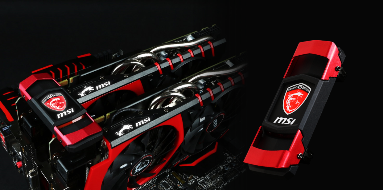 MSI Premium GAMING SLI Bridge