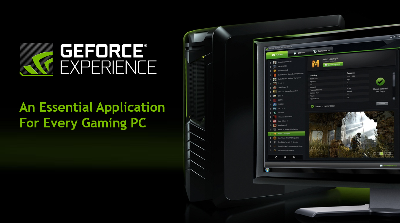 GeForce Experience: Gamestream co-op