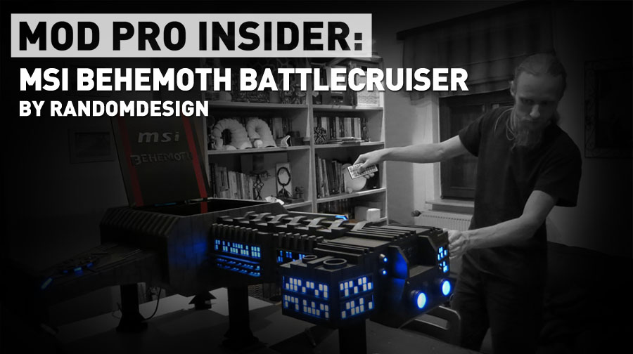 MOD Pro Insider:MSI Behemoth Battlecruiser by RandomDesign