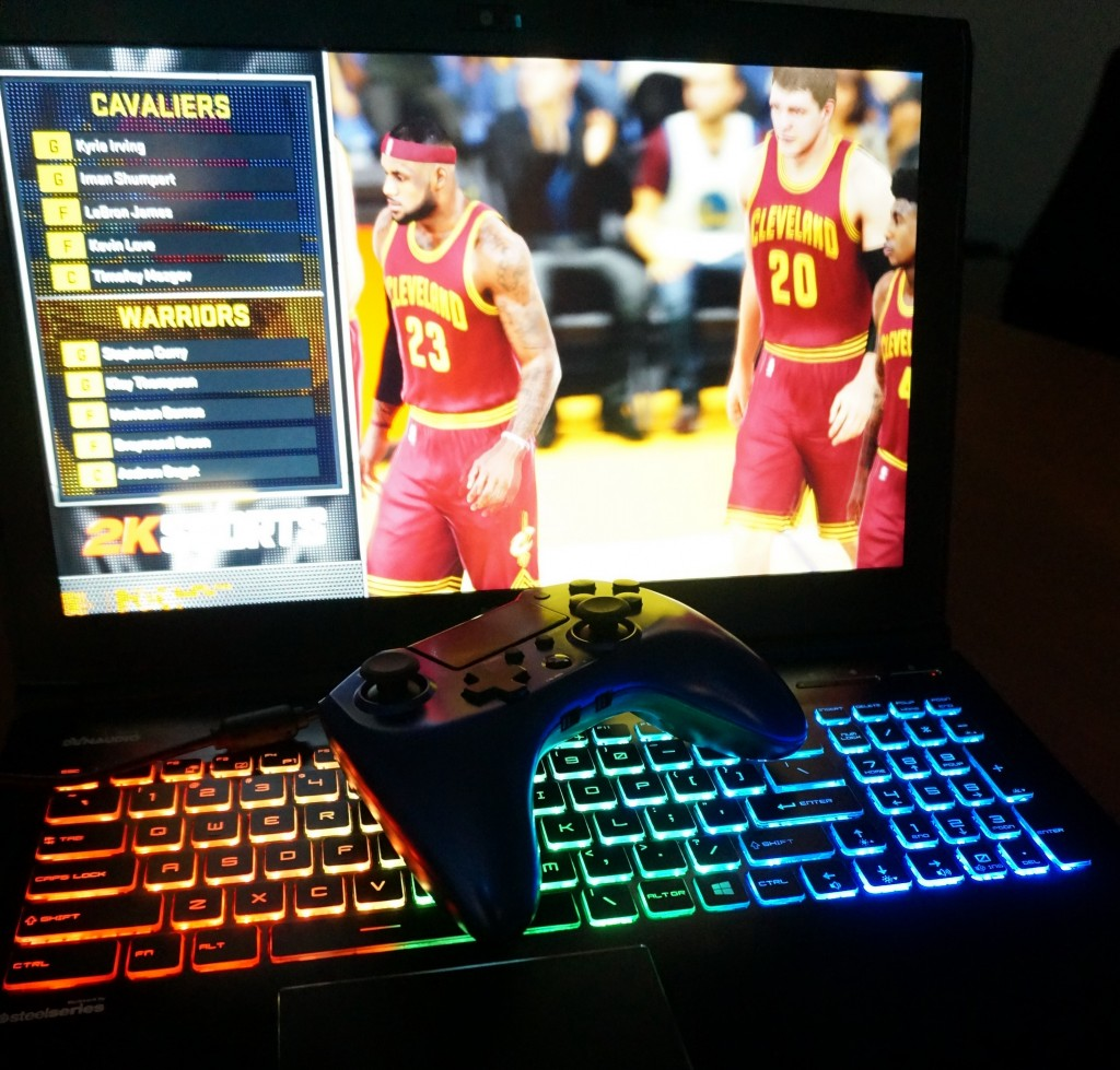 START YOUR NBA2K16 SEASON WITH MSI GE62 GAMING NOTEBOOK SMOOTHLY!