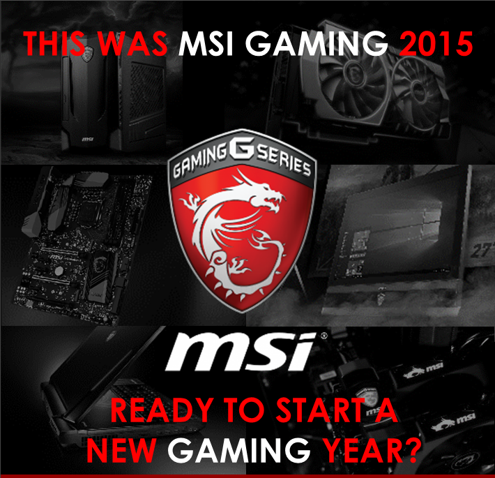 This was MSI Gaming 2015