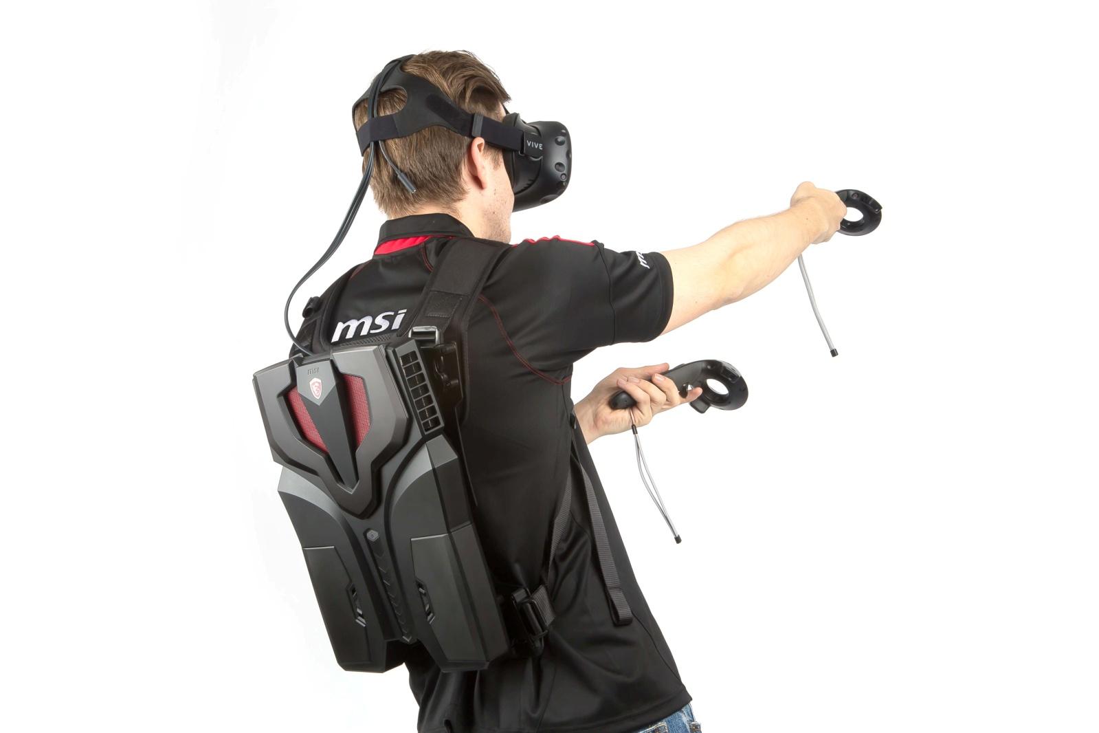 Découvrez le VR One, premier sac à dos pour réalité virtuelle jamais créé au monde