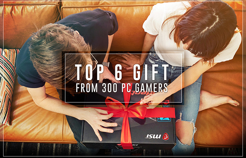 The Ultimate Gift Guide from 300 PC Gamers 2018