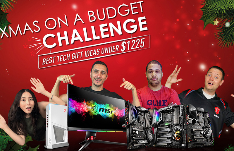 Best Tech Gift Ideas Under $1225 – Christmas on A Budget Challenge