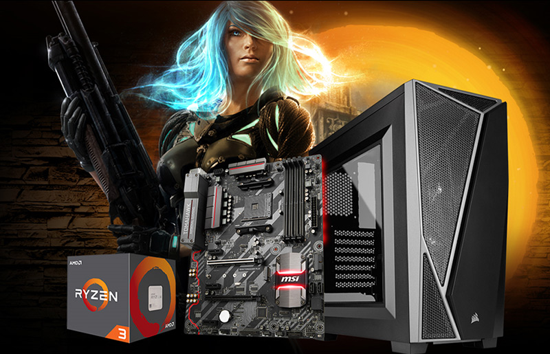 How to build the best affordable RYZEN gaming PC Powered by B350 TOMAHAWK PLUS