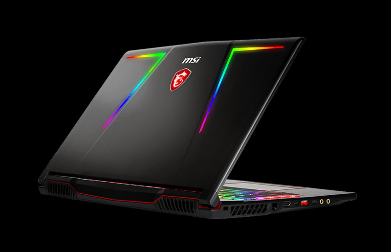 MSI Unveil the Latest GE63 Raider RGB in CES 2018 And the world's 1st Launch of GT75 with Killer 1550 WiFi