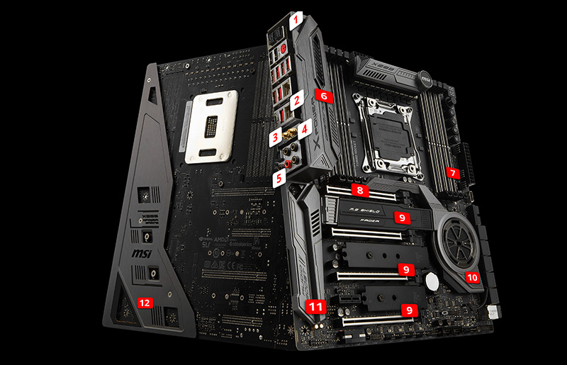 Don't worry about X299 VRM  – Unlocking the potential of X299 & overclocking tips
