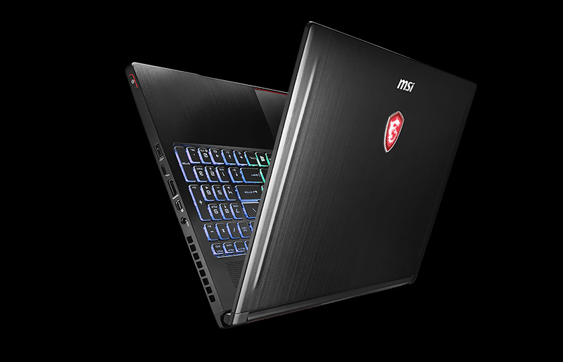 The Coolest Slim Gaming Notebook GS63 with GTX 1070 Max-Q!