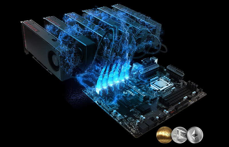 Mining Intel Motherboard – Go with MSI 100/200 Series Motherboard