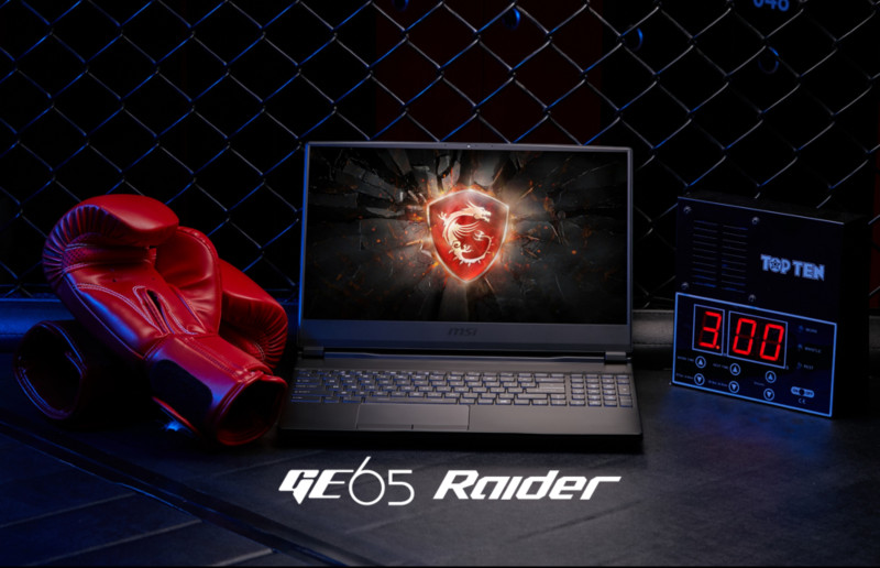 GE65 Raider: lo primero es el desempeño. ¡Más rápida y precisa!