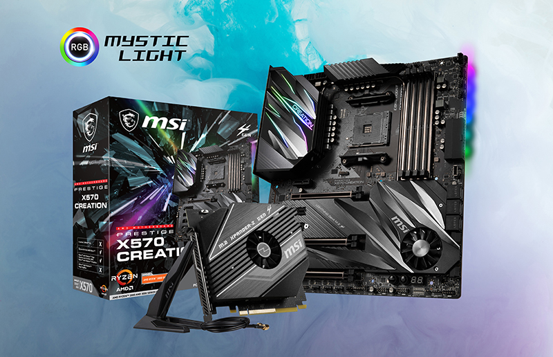 Why Design for Creators? The Specialty of PRESTIGE X570 CREATION