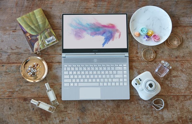 As talented as I am! Create wonderful moments with Modern 14 ultra-thin powerful laptop