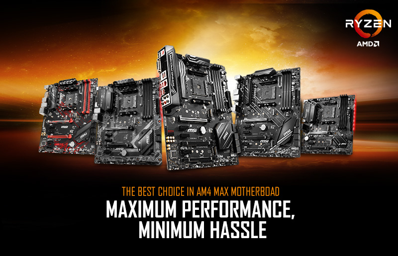 Gama de placas base MAX de MSI