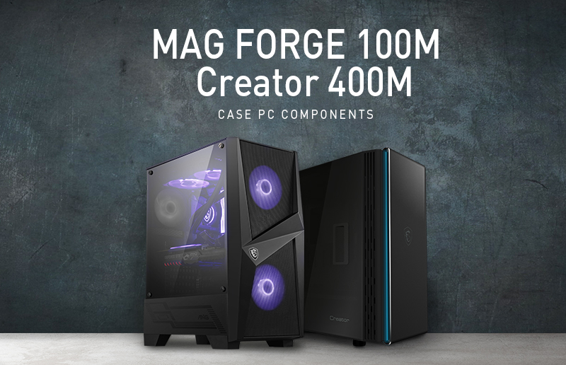 CES 2020 Round-up: MSI's New Range of Stunning PC Cases for Gamers and Creators