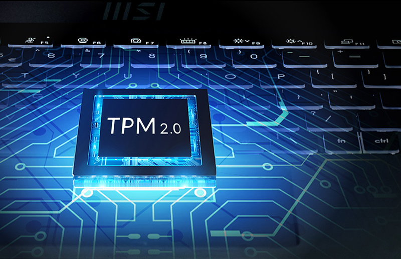MSI Business Laptops Come with TPM 2.0 Solution