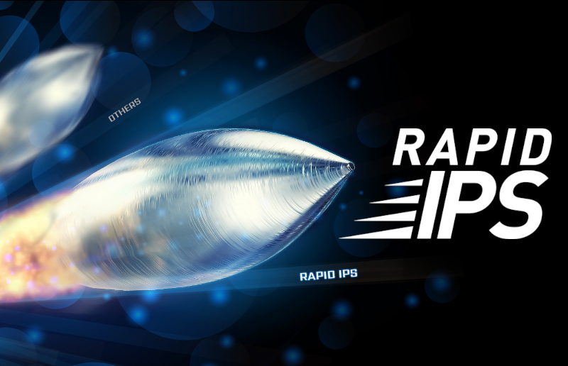 The Colorful, Fast and Smooth: Rapid IPS