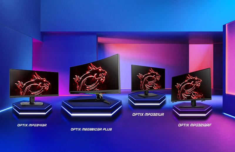 MSI Product launch 2021 - Monitores gaming de última generación