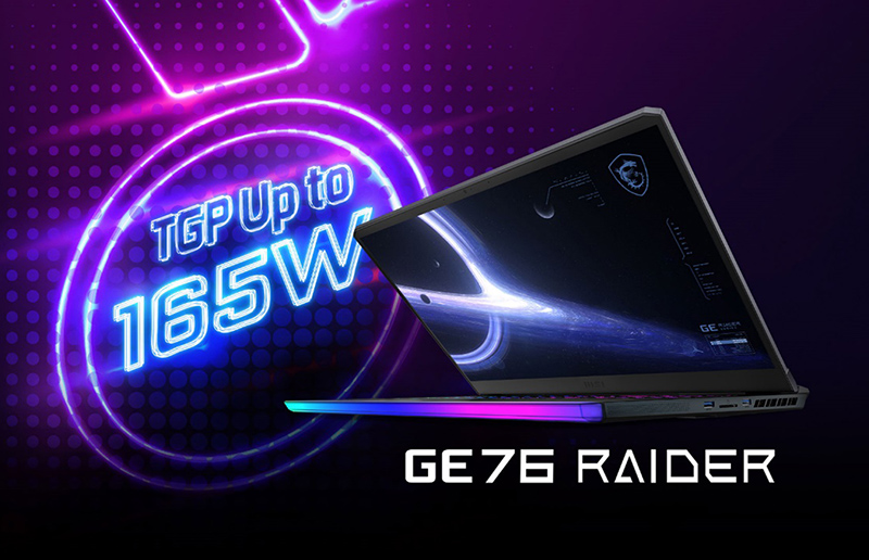 Upgrade the vBIOS of GE76 Raider and release the extreme performance