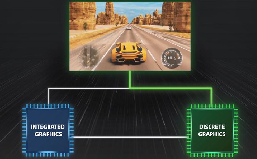 Cómo utilizar el modo Discrete Graphics de MSI