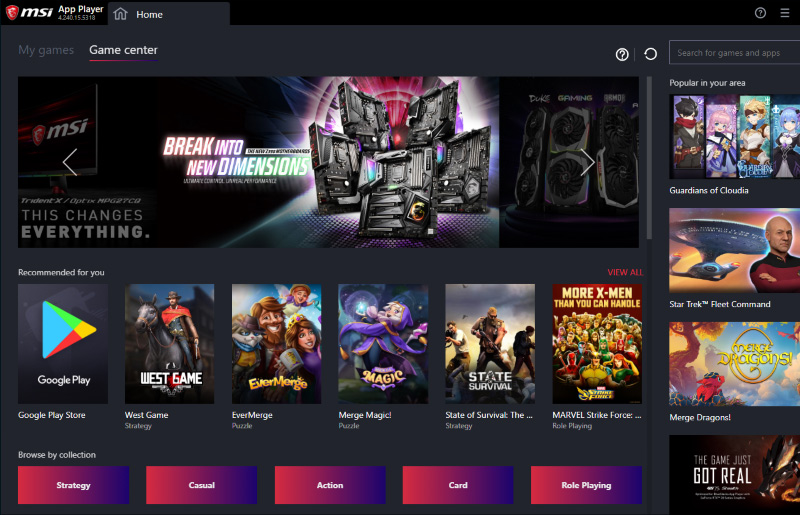 MSI App Player - Playing Android Games with Integrated Graphics