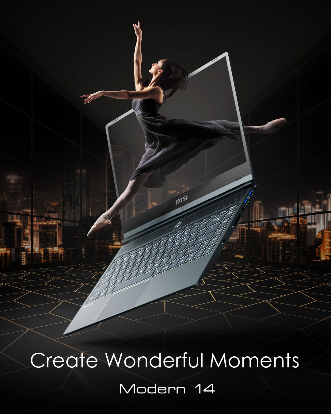 Modern 14 - Creat Wonderful Moments