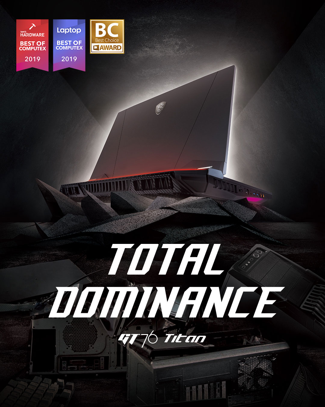 GT76 Titan - Total Dominace