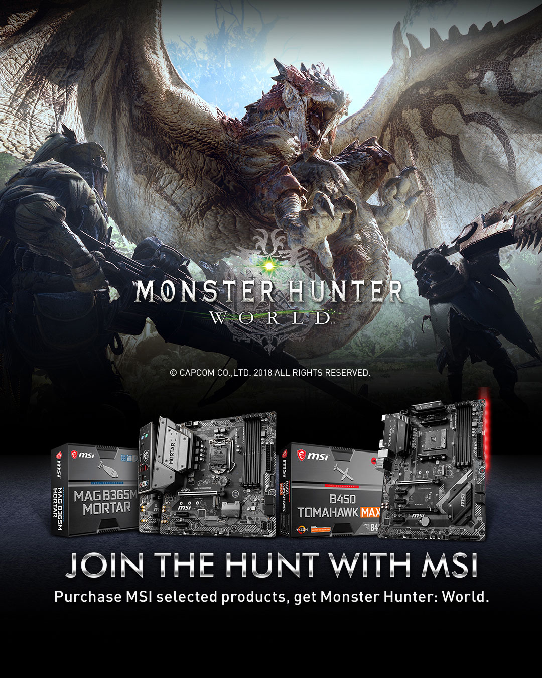 MHW promotion