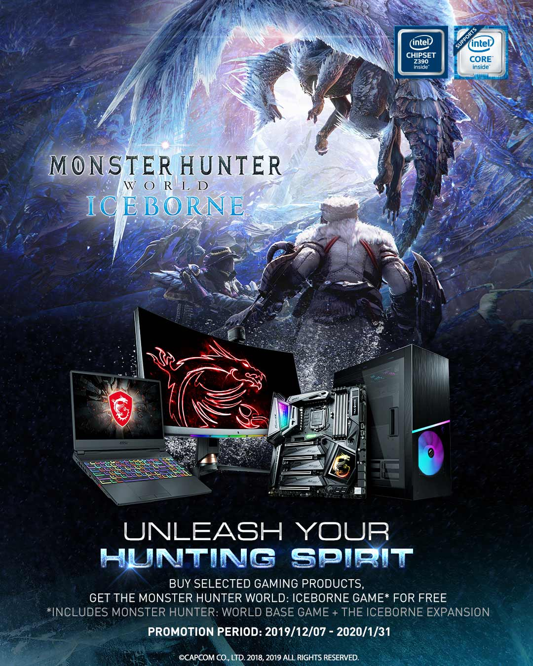 Unleash your hunting spirit