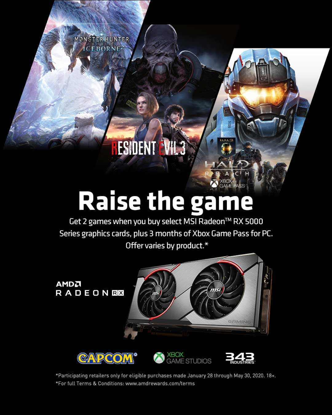AMD 2020 Raise the Game