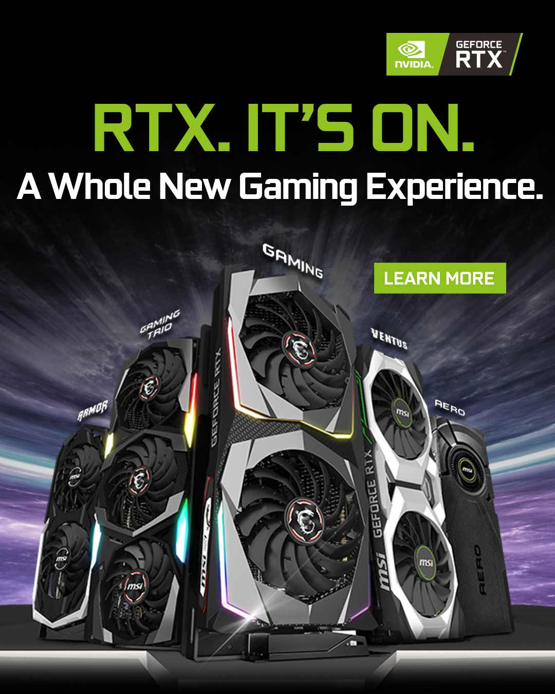 RTX. IT'S ON.