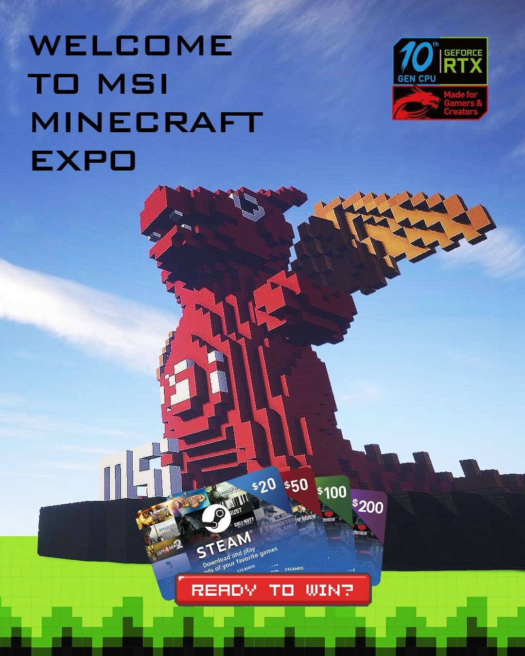 MSI Minecraft Expo
