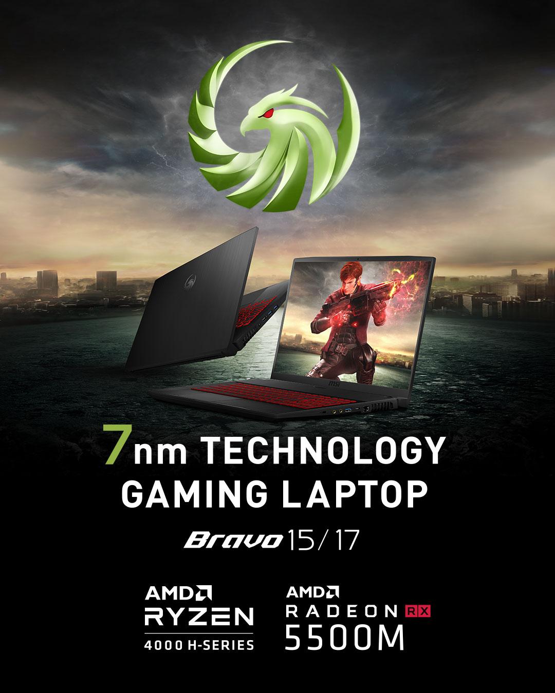 Bravo 17 - 7nm Technology Gaming Laptop