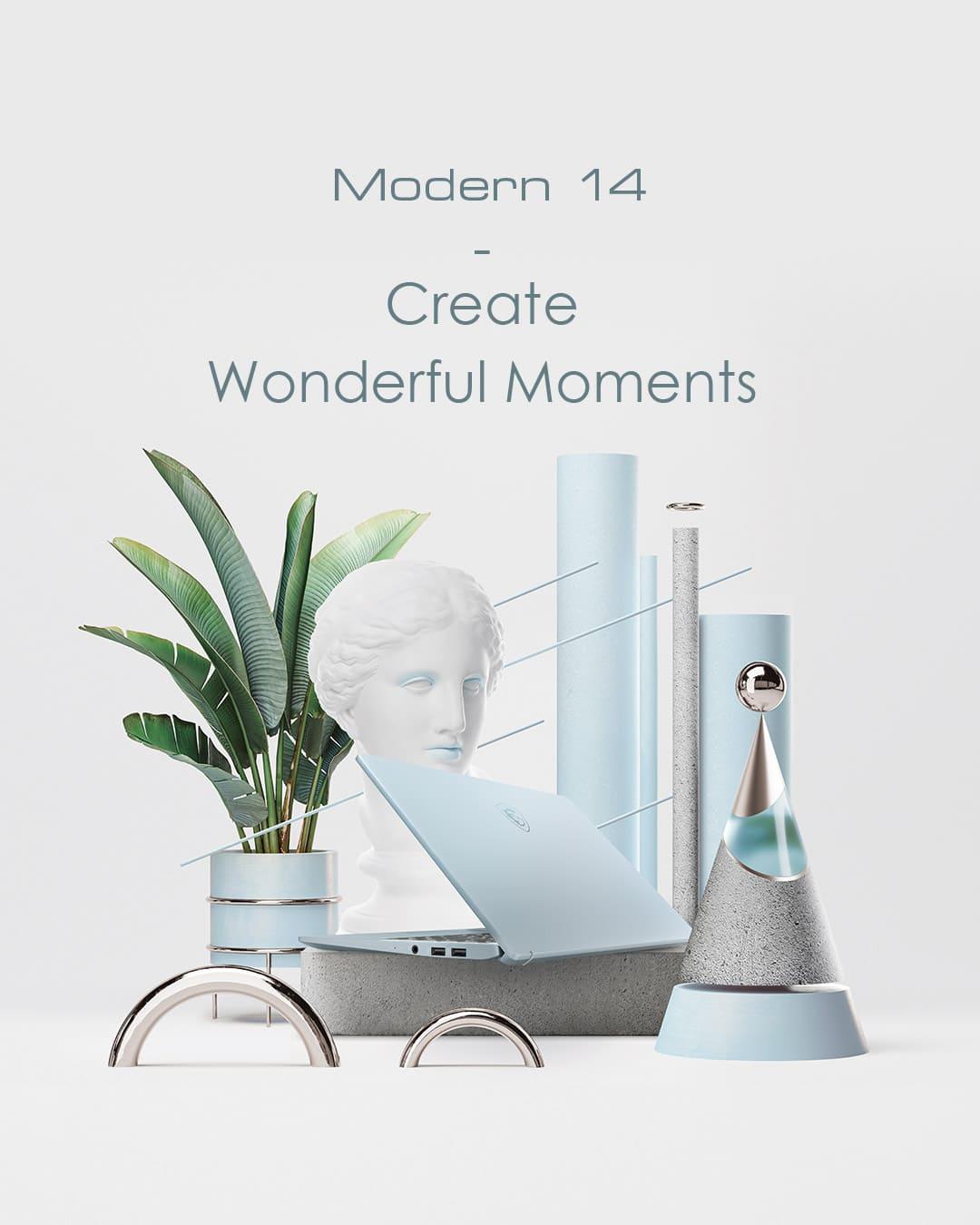 Modern 14 Bluestone
