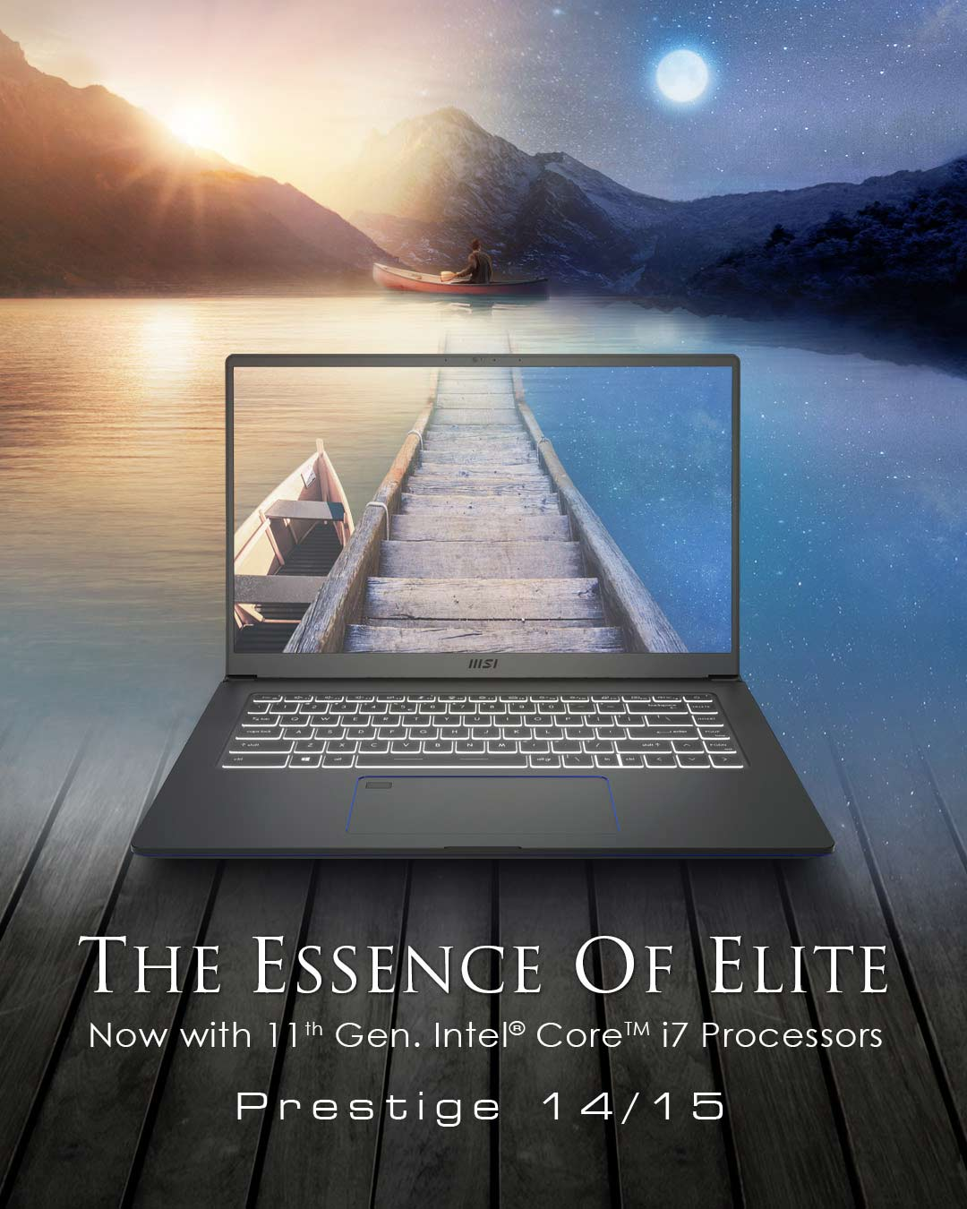 Prestige 15 – The Essence Of Elite