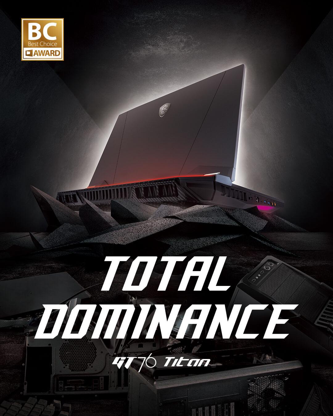 Total Dominance - GT76 Titan