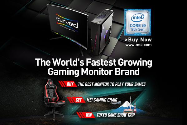 Fastest Growing Gaming Monitor