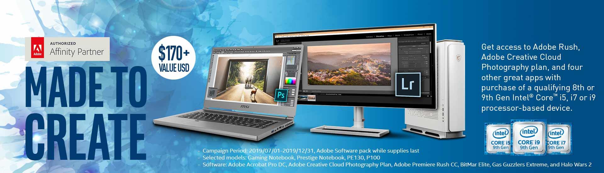 Intel Adobe