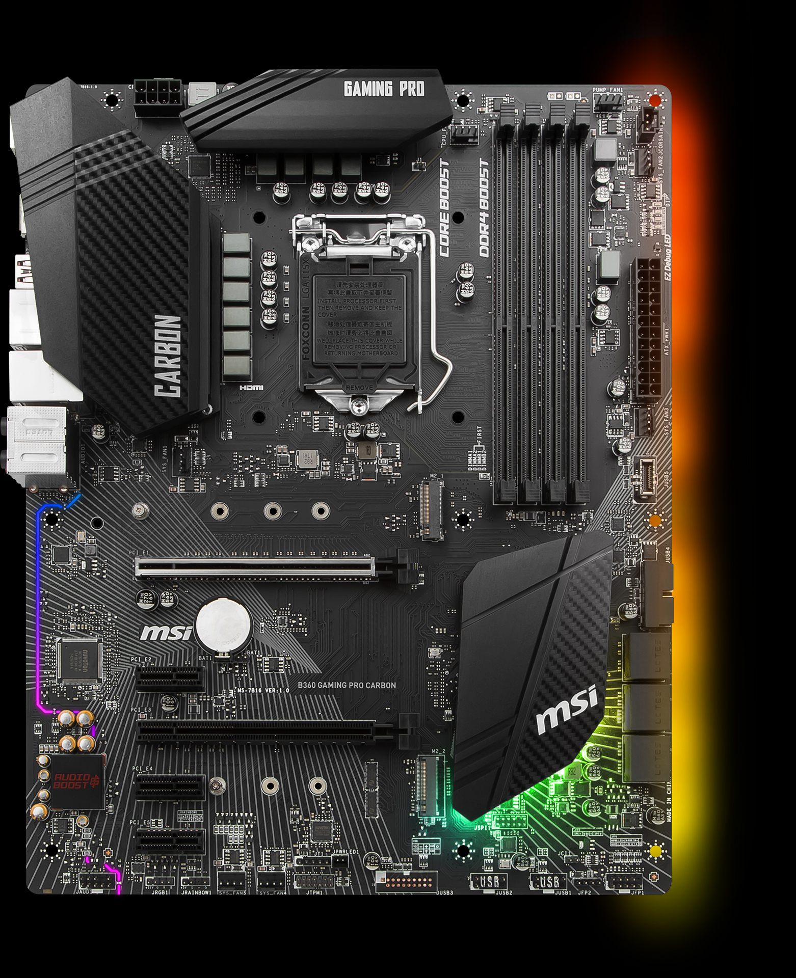 B360 GAMING PRO CARBON | Motherboard - The world leader in