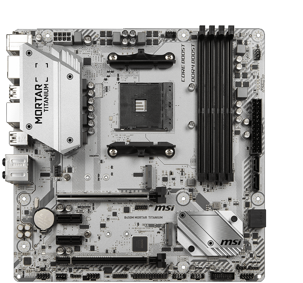 B450M MORTAR TITANIUM   Motherboard - The world leader in
