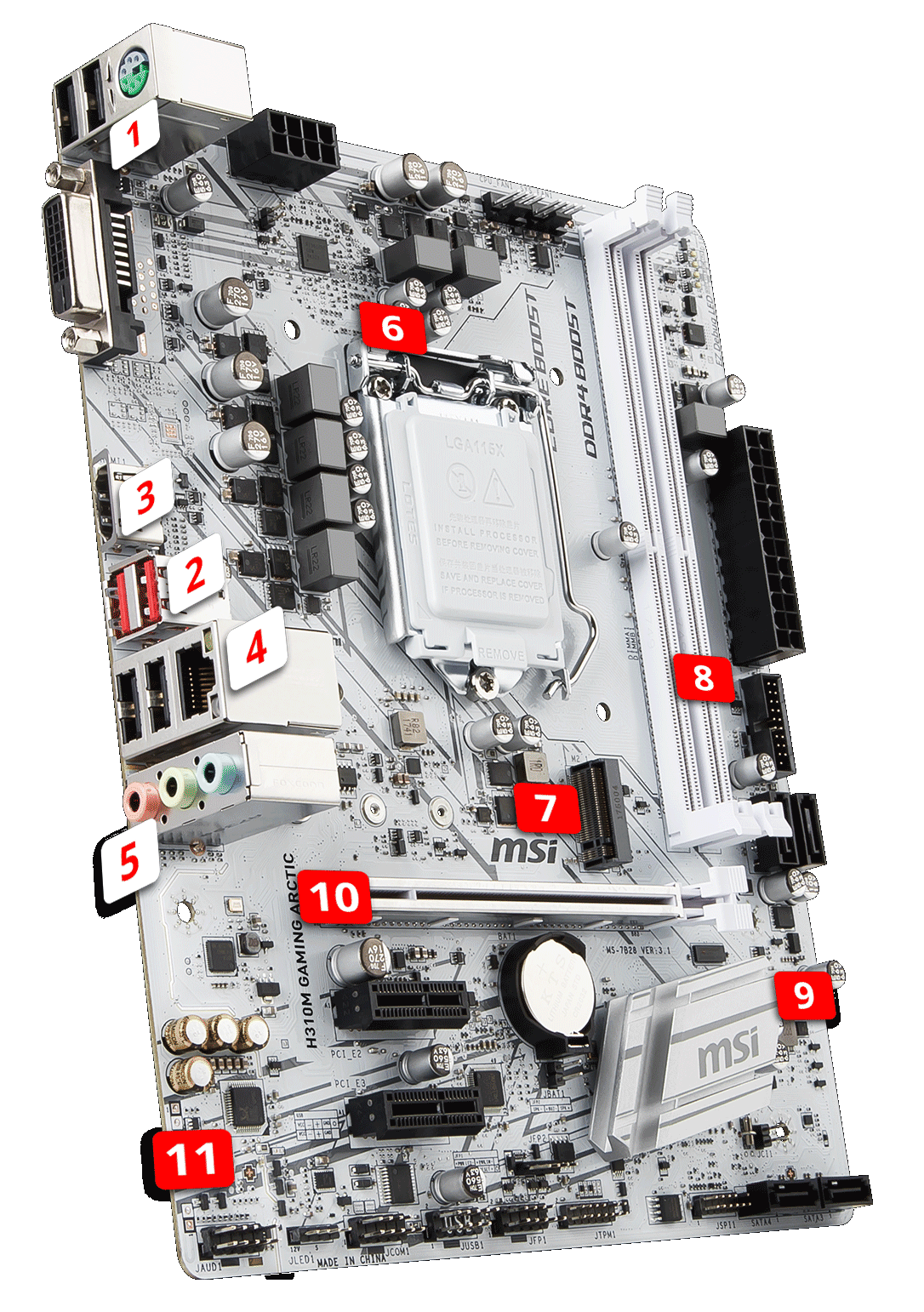 H310M GAMING ARCTIC | Motherboard - The world leader in