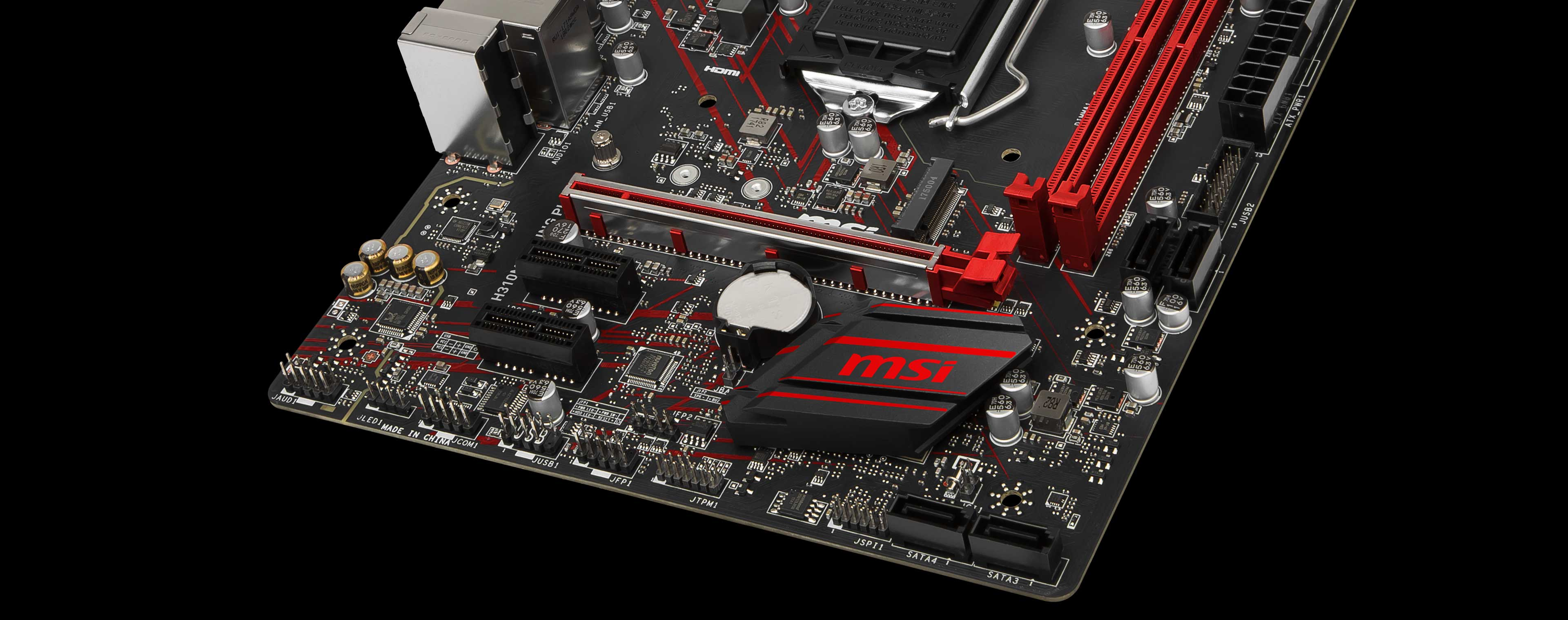 H310M GAMING PLUS | Motherboard - The world leader in motherboard