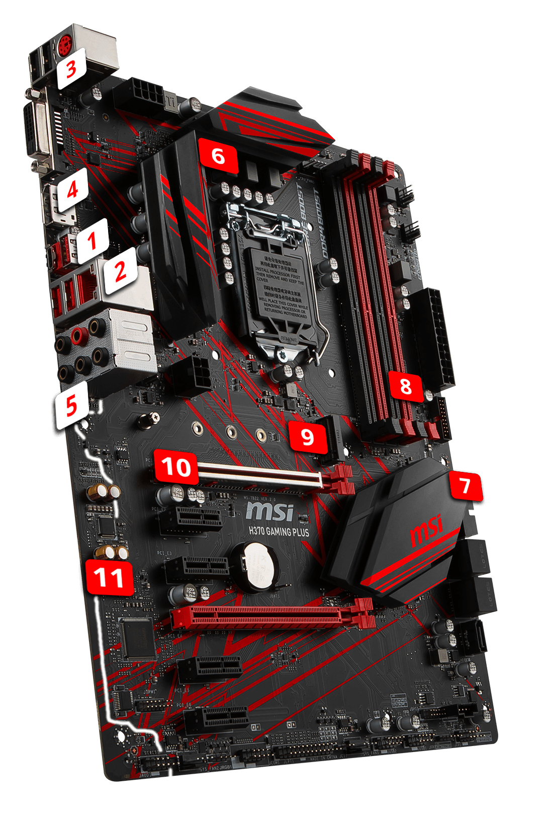 H370 GAMING PLUS | Motherboard - The world leader in motherboard
