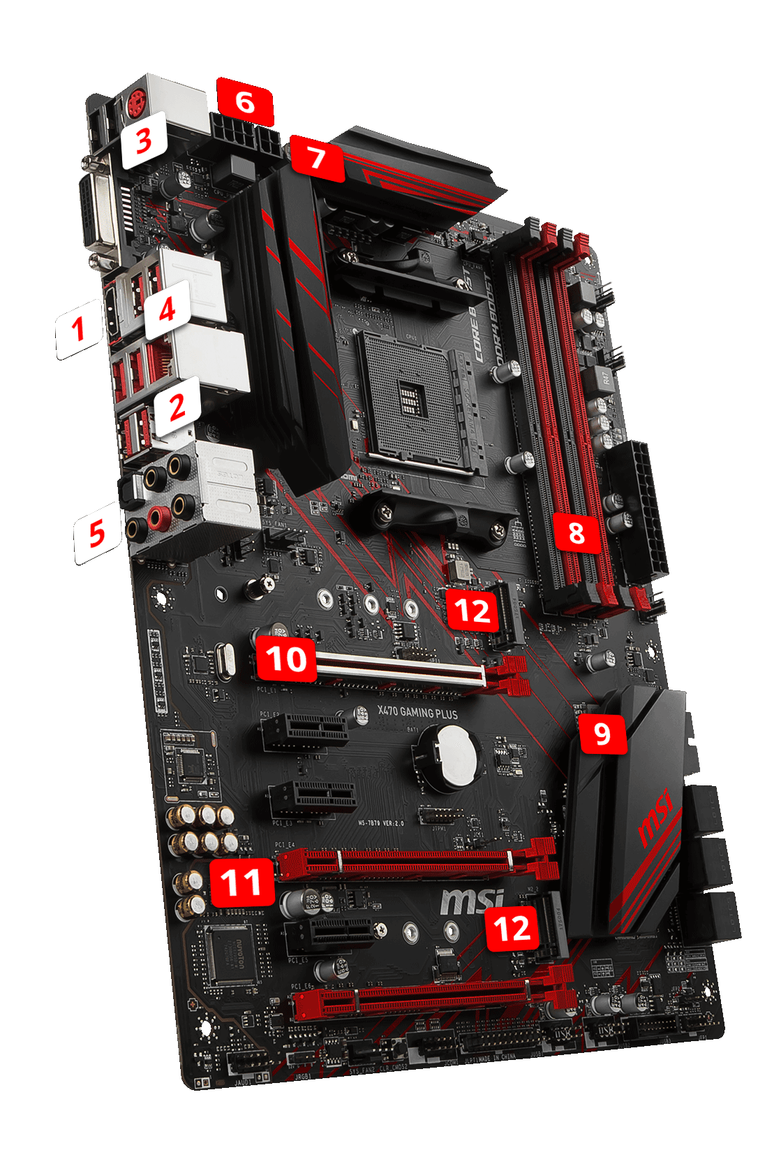 X470 GAMING PLUS | Motherboard - The world leader in