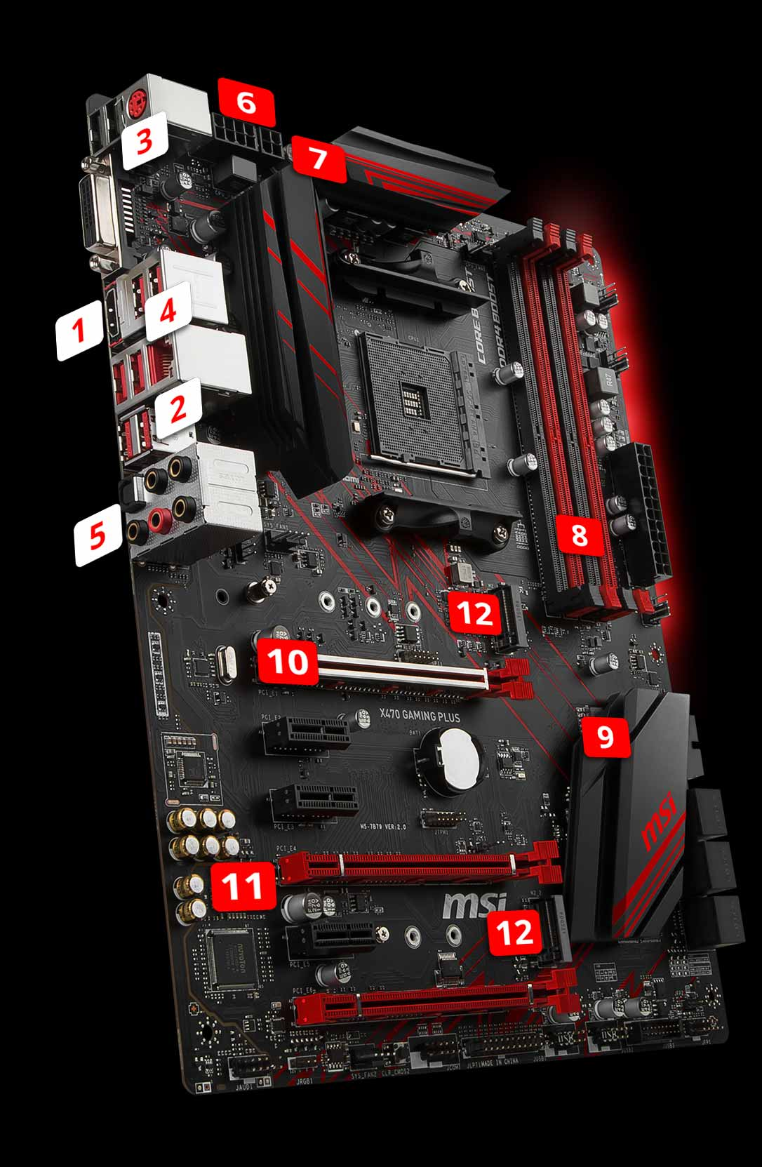 X470 GAMING PLUS | Motherboard - The world leader in motherboard