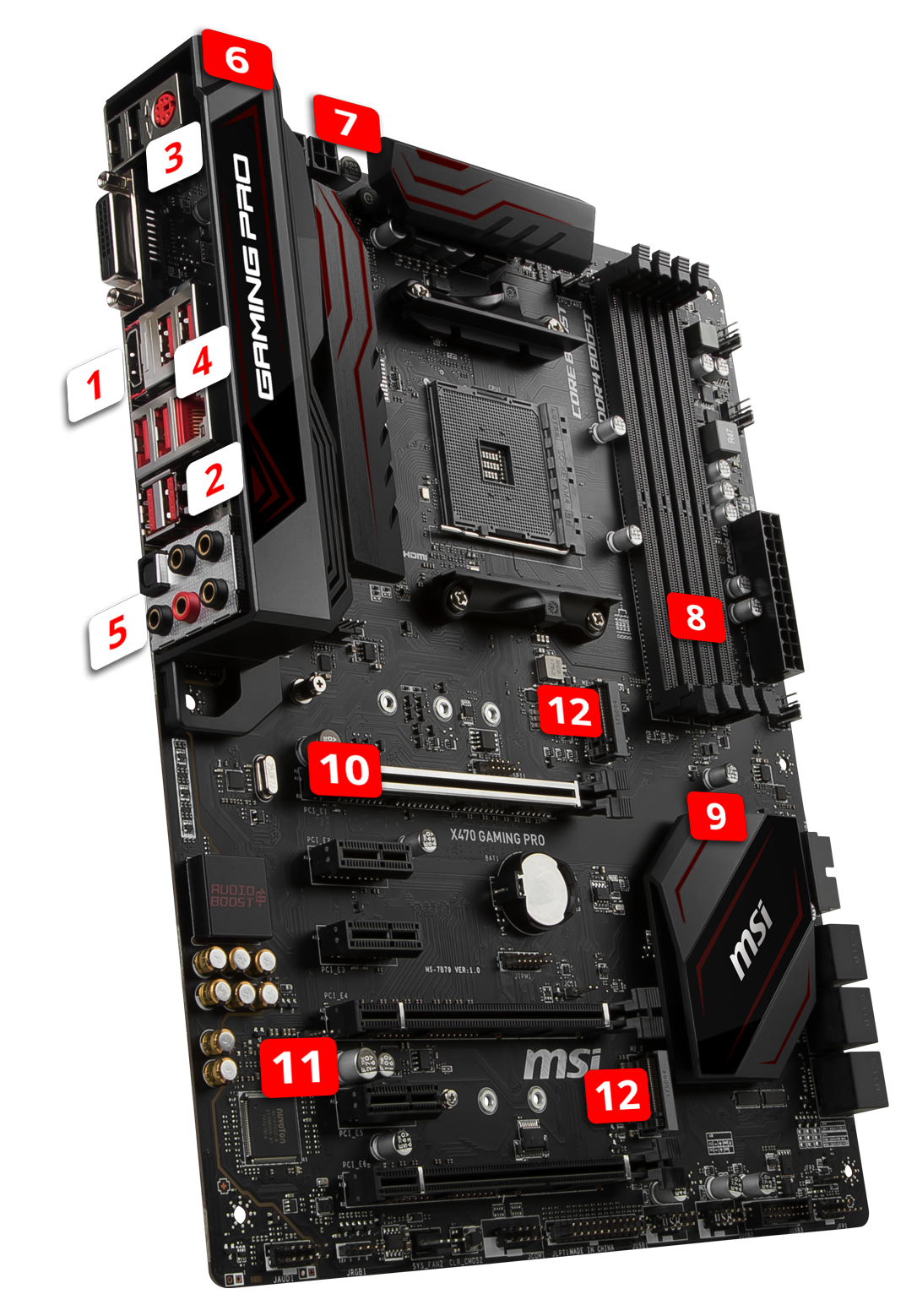X470 GAMING PRO | Motherboard - The world leader in